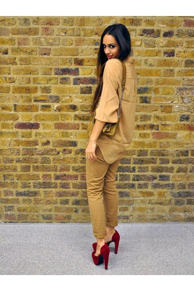 Camel Tone, LOVE, Burgundy Shoes, red new look shoes $35