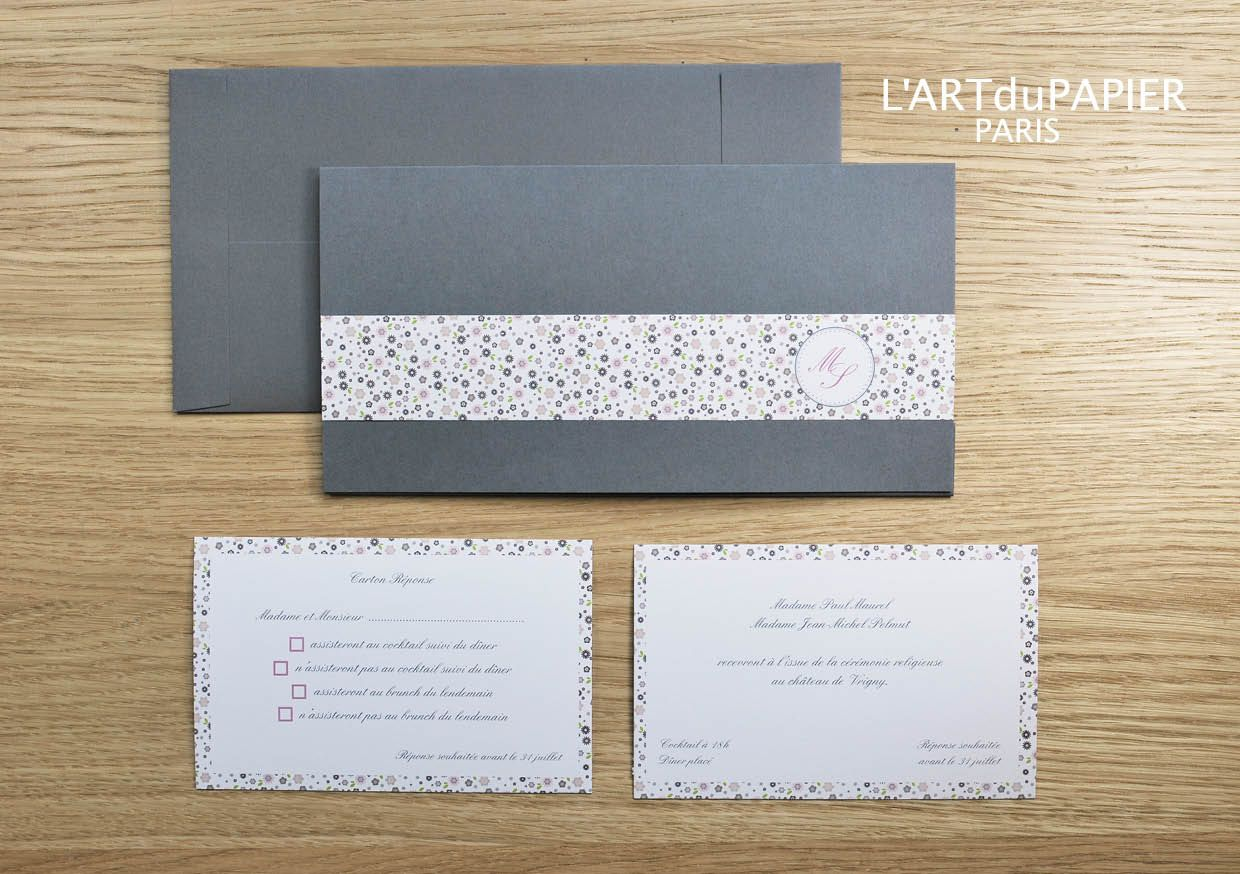 Faire-part de Mariage - Wedding Invitation \
