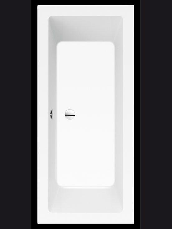 Rechteck-Badewanne 200 x 90 x 49 cm bad Pinterest