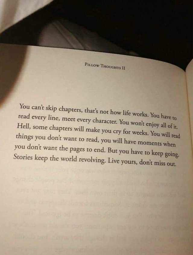 [Image] You can't skip chapters...