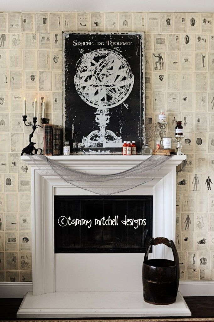 Halloween Parties DIY Party Decorations The Halloween Wall Paper - halloween party decorations diy