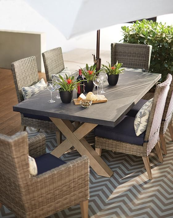 Naples Rectangular Dining Table