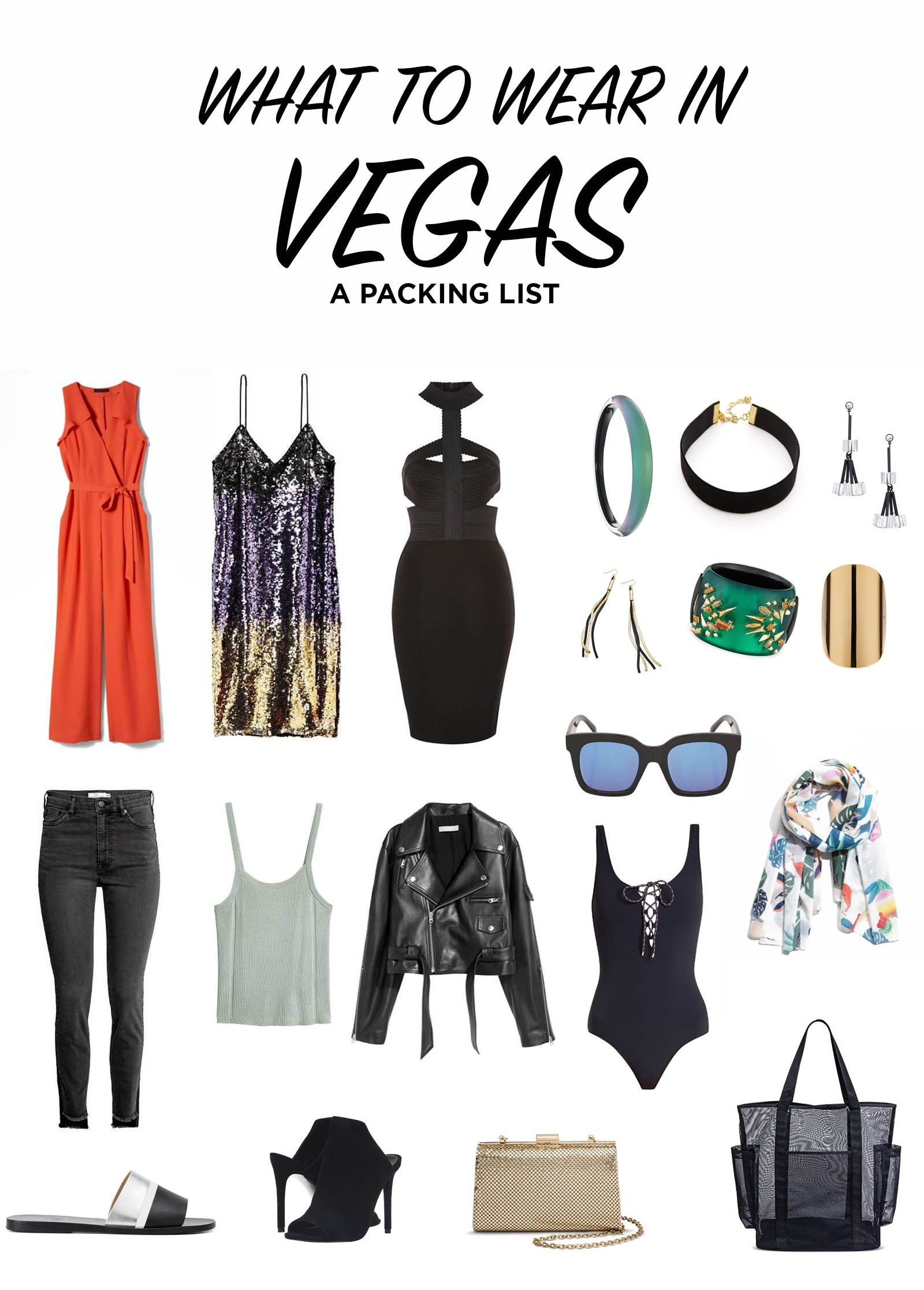 vegas packing list what to wear in vegas outfit ideas  Vegas