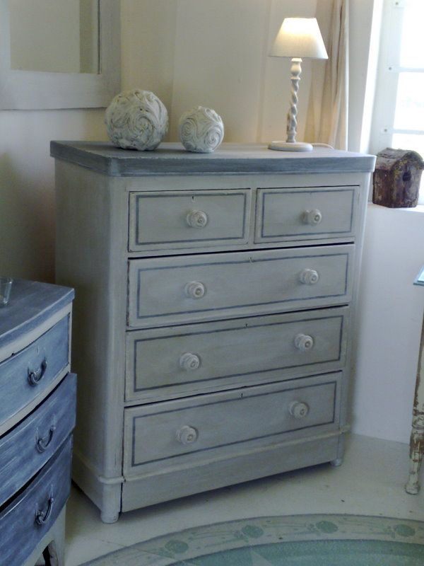 Best Blue Grey Painted Furniture Blue Painted Furniture 400 x 300