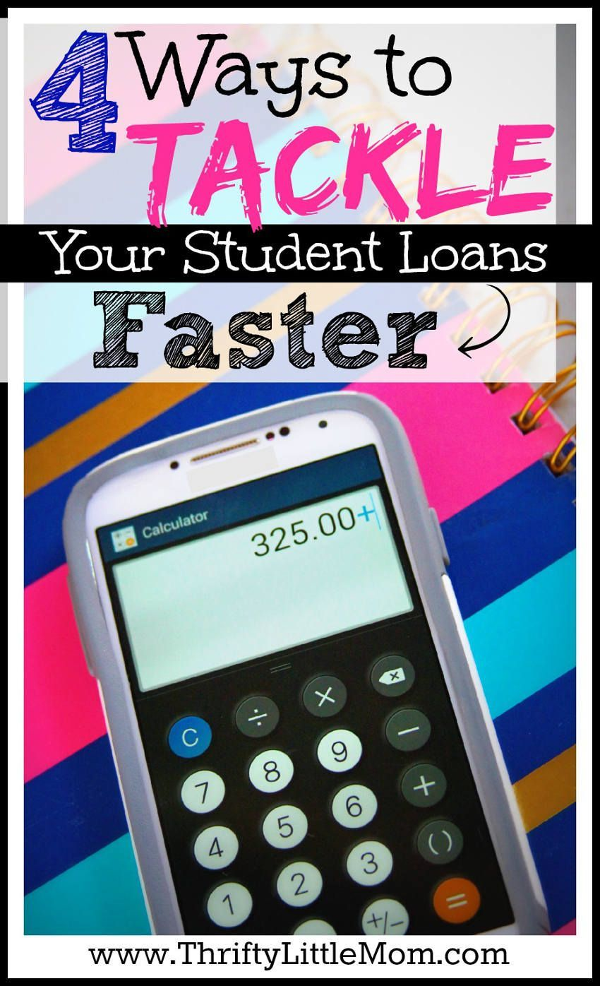 4 Ways To Tackle Your Student Loans Faster If Youve Been Thinking
