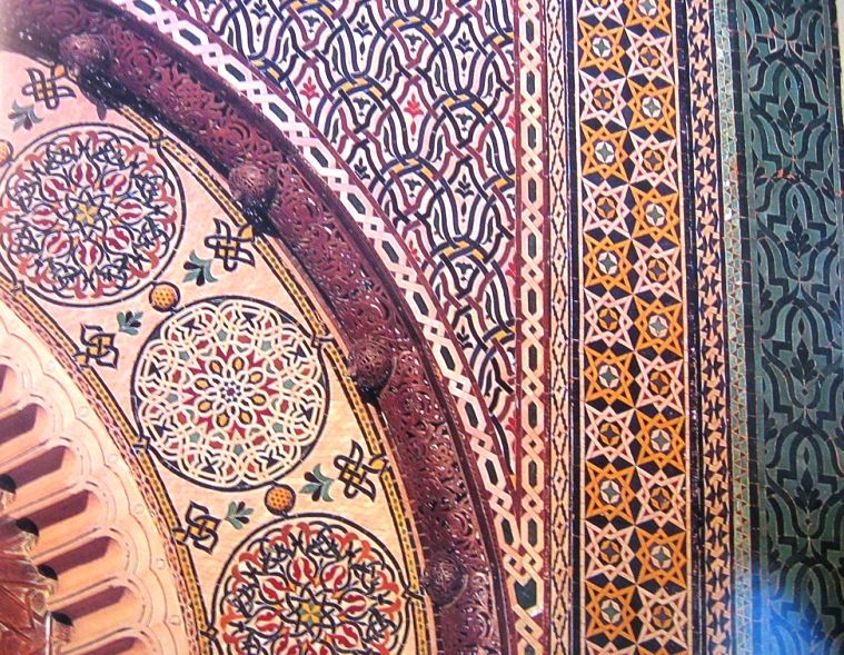 Old moroccan tiles. home pinterest