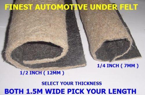 Car Van Boat Insulation Under Felt Underlay Sound Deadening Lining Liner Carpet New Beetle Sound Proofing Lexus