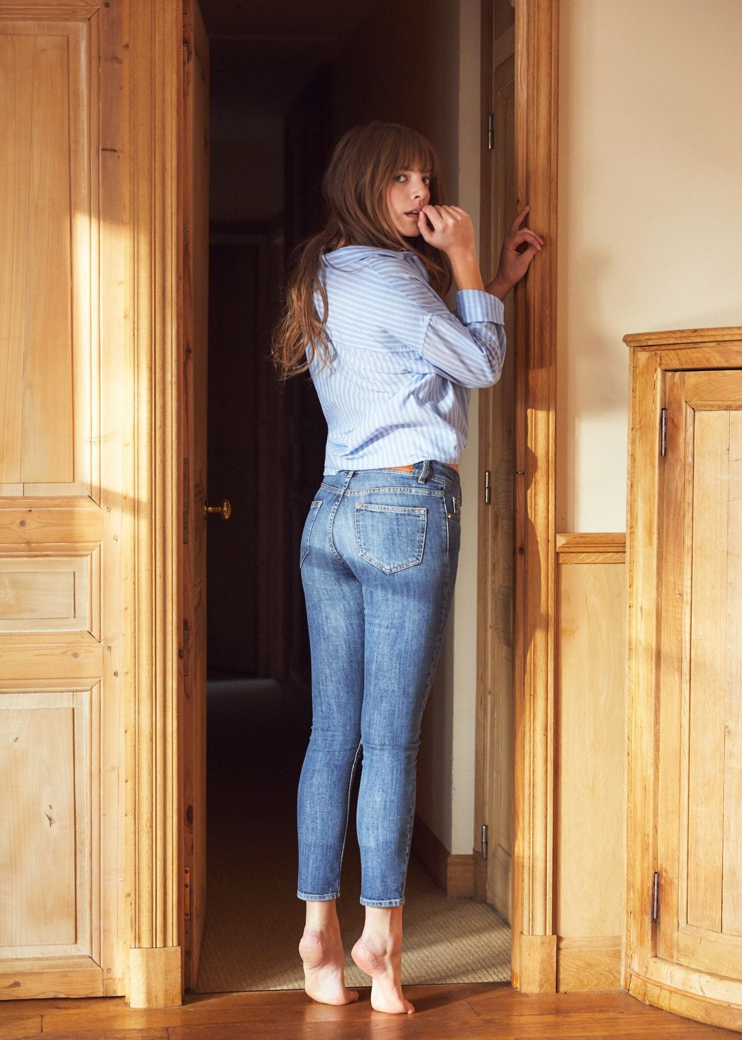 Blue Jeans 2003 - Perfect 7 8th Slim In Light