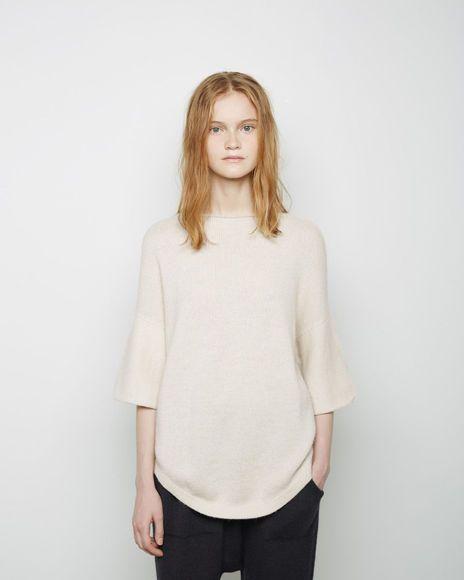 Lauren Manoogian | Dovetail Pullover | La Garçonne
