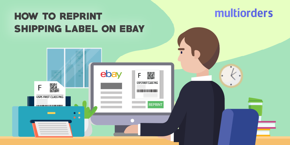 SOLVED How To Reprint Shipping Label On eBay? Shipping