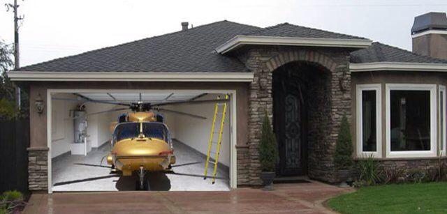 Helicopter Garage Door Garage Door Paint Garage Doors Doors