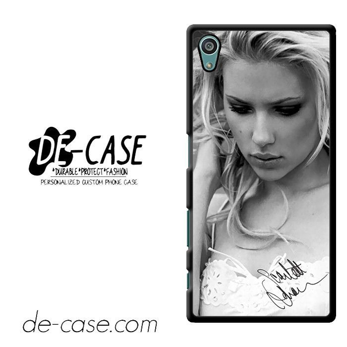 Scarlett Johansson DEAL-9420 Sony Phonecase Cover For Xperia Z5