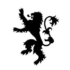 Game of Thrones - House Lannister Sigil Stencil | GOT ...