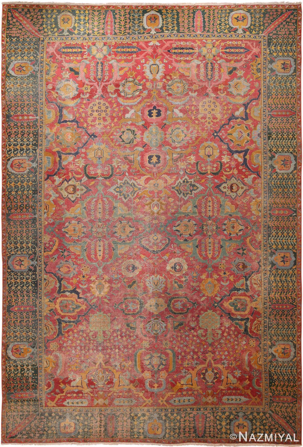 17th Century Antique Persian Isfahan Rug 70046 By Nazmiyal Nyc Modern Persian Rug Antique Rugs Antique Persian Rug