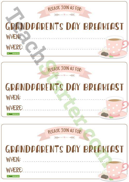 Grandparents day invitations teaching resource pinterest grandparents day invitations teaching resource stopboris Images