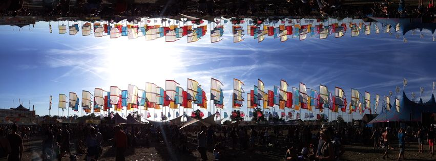 Flags at Pukkelpop Festival 2012 ( obvious little photo-shopped )
