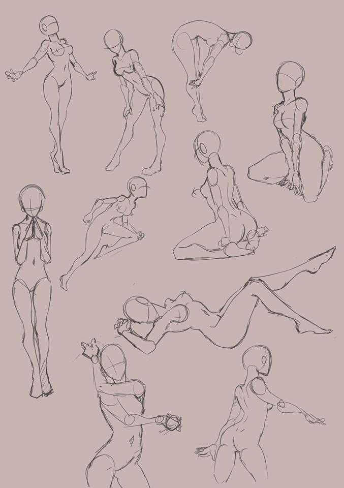 Pin de Juan Camilo en Anatomia femenina | Pinterest | Figuras ...