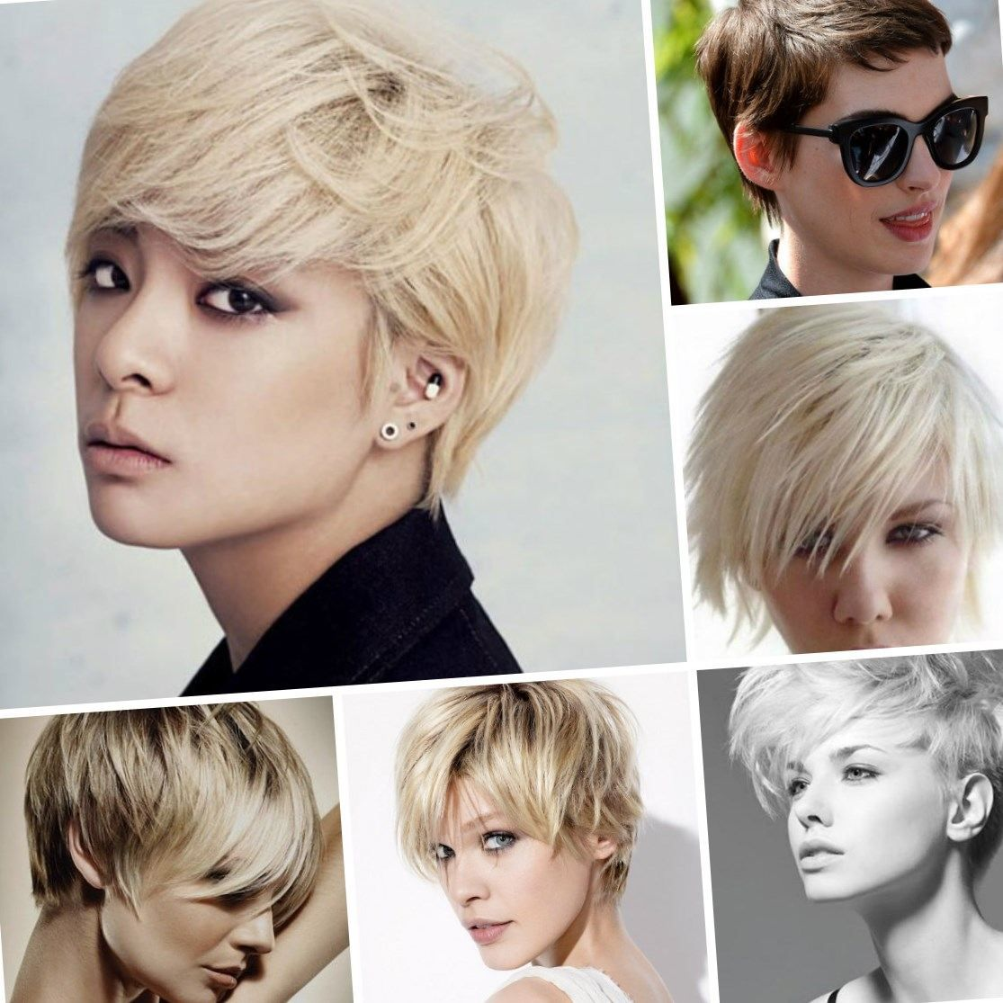 Short Hair Styles Hairstyles Thin Best