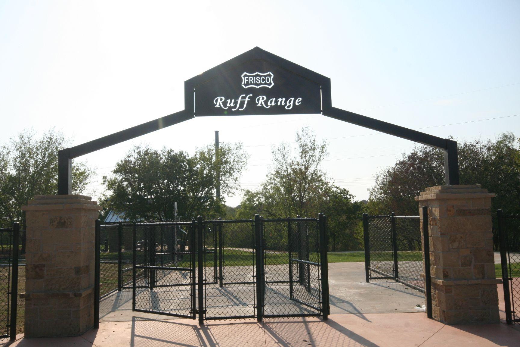 Ruff Range Frisco S New Dog Park Amazing Dog Park Outdoor