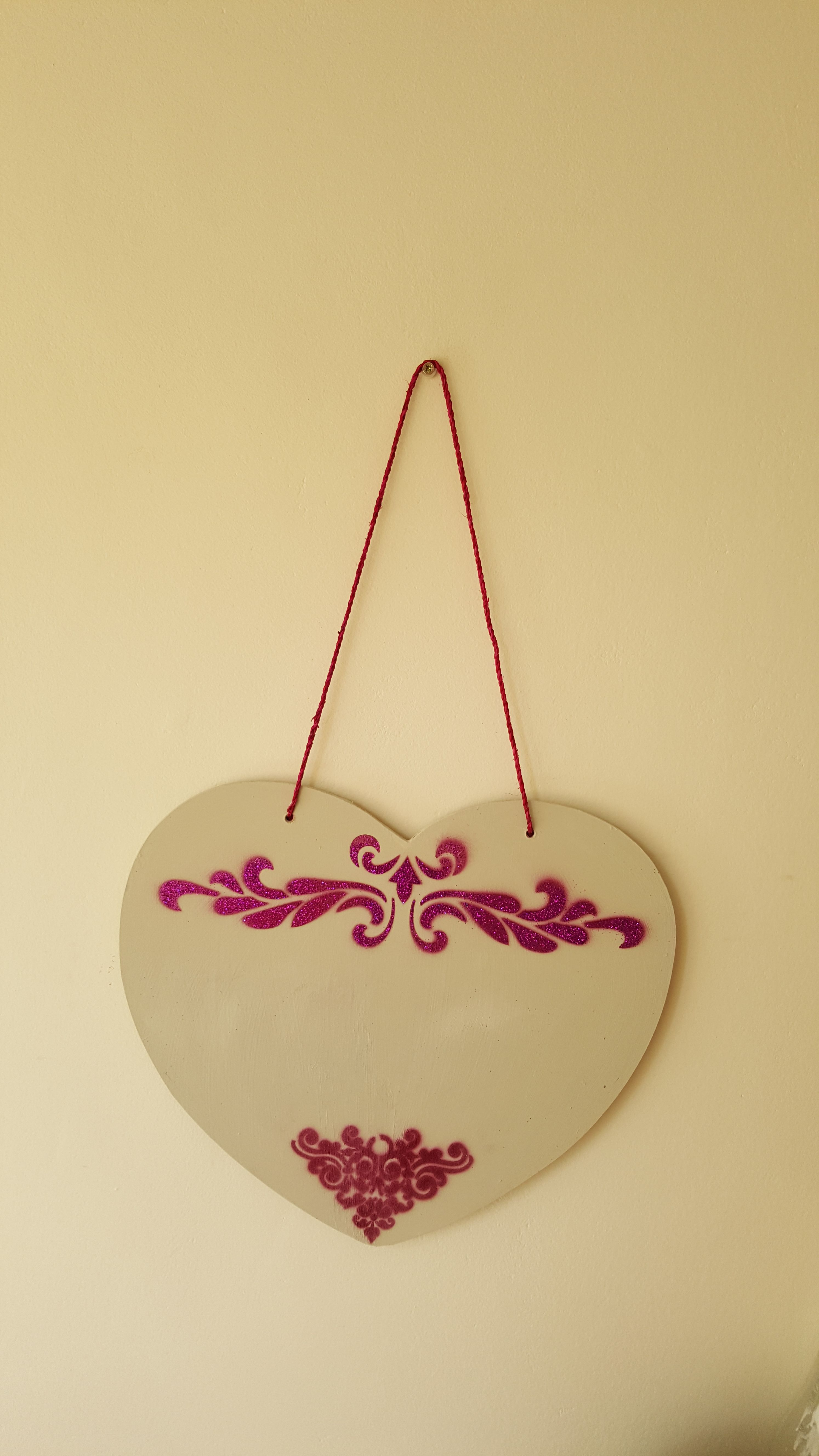Wooden Hearts for a wall. Order from SOJE Interior, Design and Decor ...