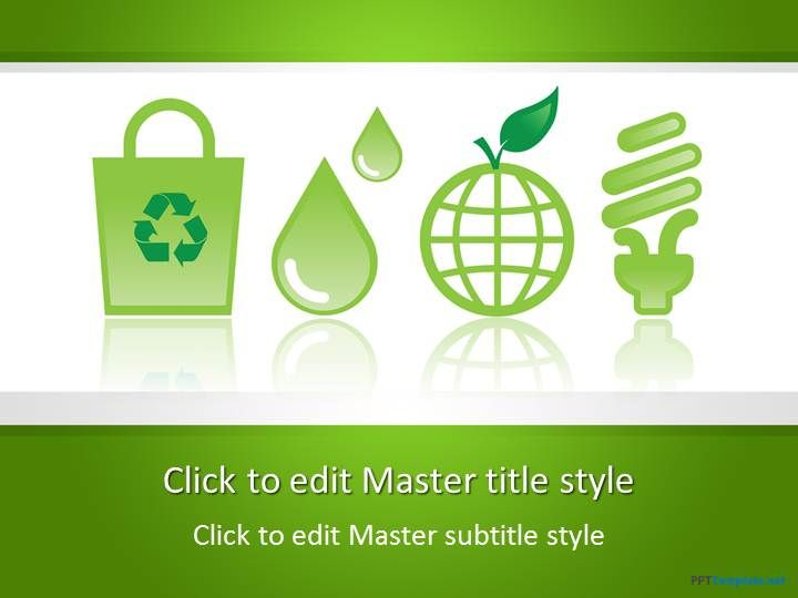 free eco friendly ppt template for csr presentations or