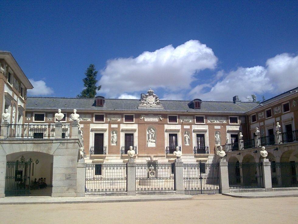 Casa del labrador se encuentra en el jard n del pr ncipe for El jardin del principe