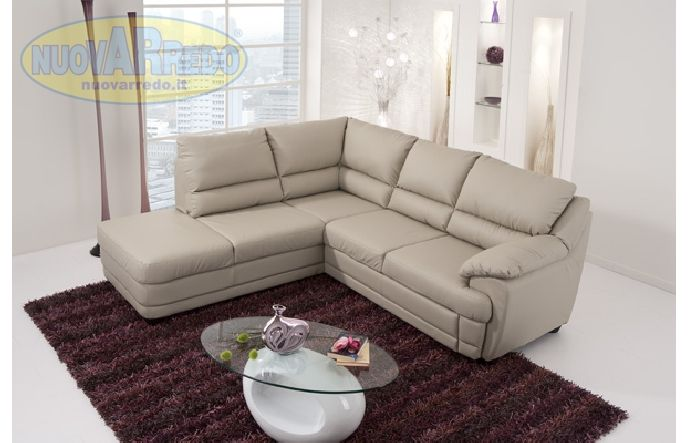 Prezzo: € 880 Divano letto angolare sinistro colore light beige ...