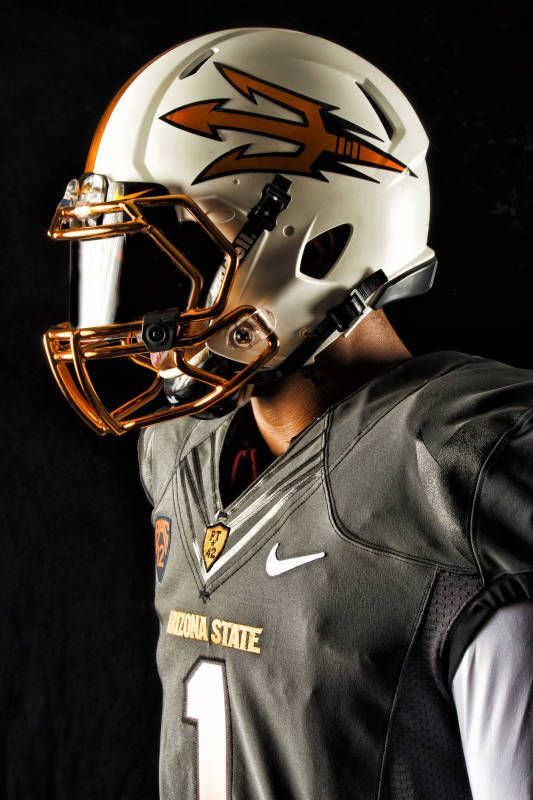 New Arizona State Football Uniform Celebrates Copper Arizona