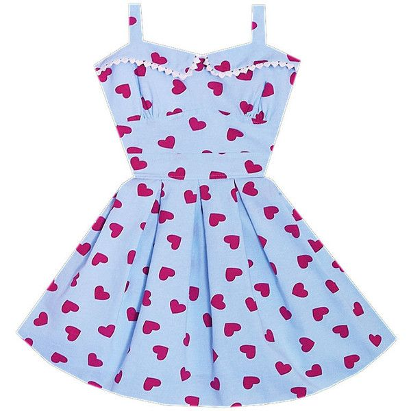 First Date Pinup Cutie Dress Bonne Chance Collections (64 AUD) ❤ liked on Polyvore featuring dresses and nymphet