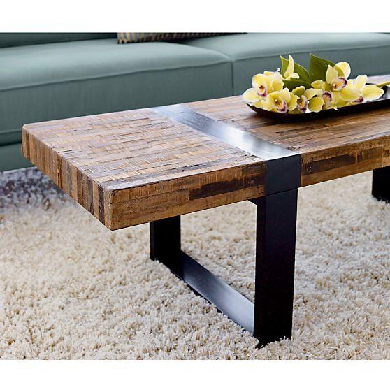 Seguro Rectangular Coffee Table Coffee Table Crate Barrel