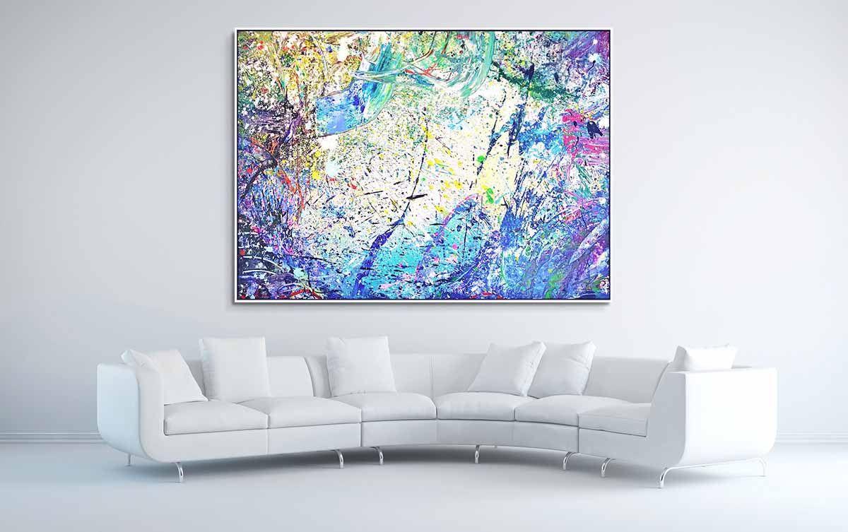 "Napa Valley #15, 2017, acrylic on canvas, 60"" x 84"" (152.4 ..."