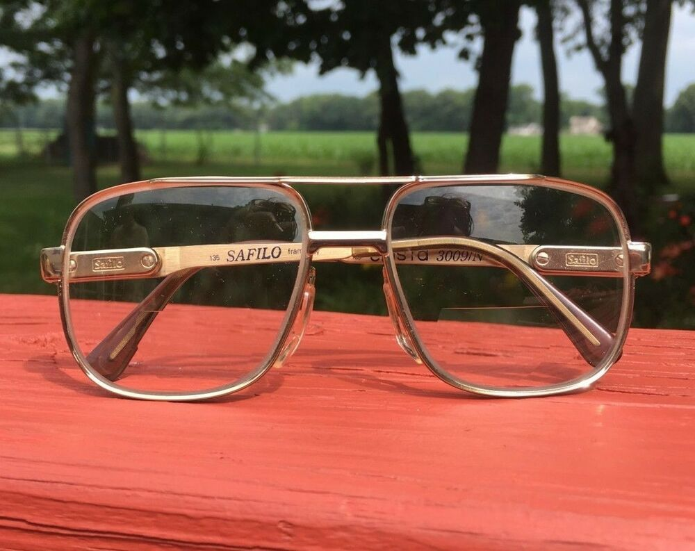 81fba0b59 Vintage 1970s Safilo Elasta Aviator Eyeglasses Frames Glasses Italy Gold  3009/N #fashion #clothing #shoes #accessories #vintage #vintageaccessories  (ebay ...