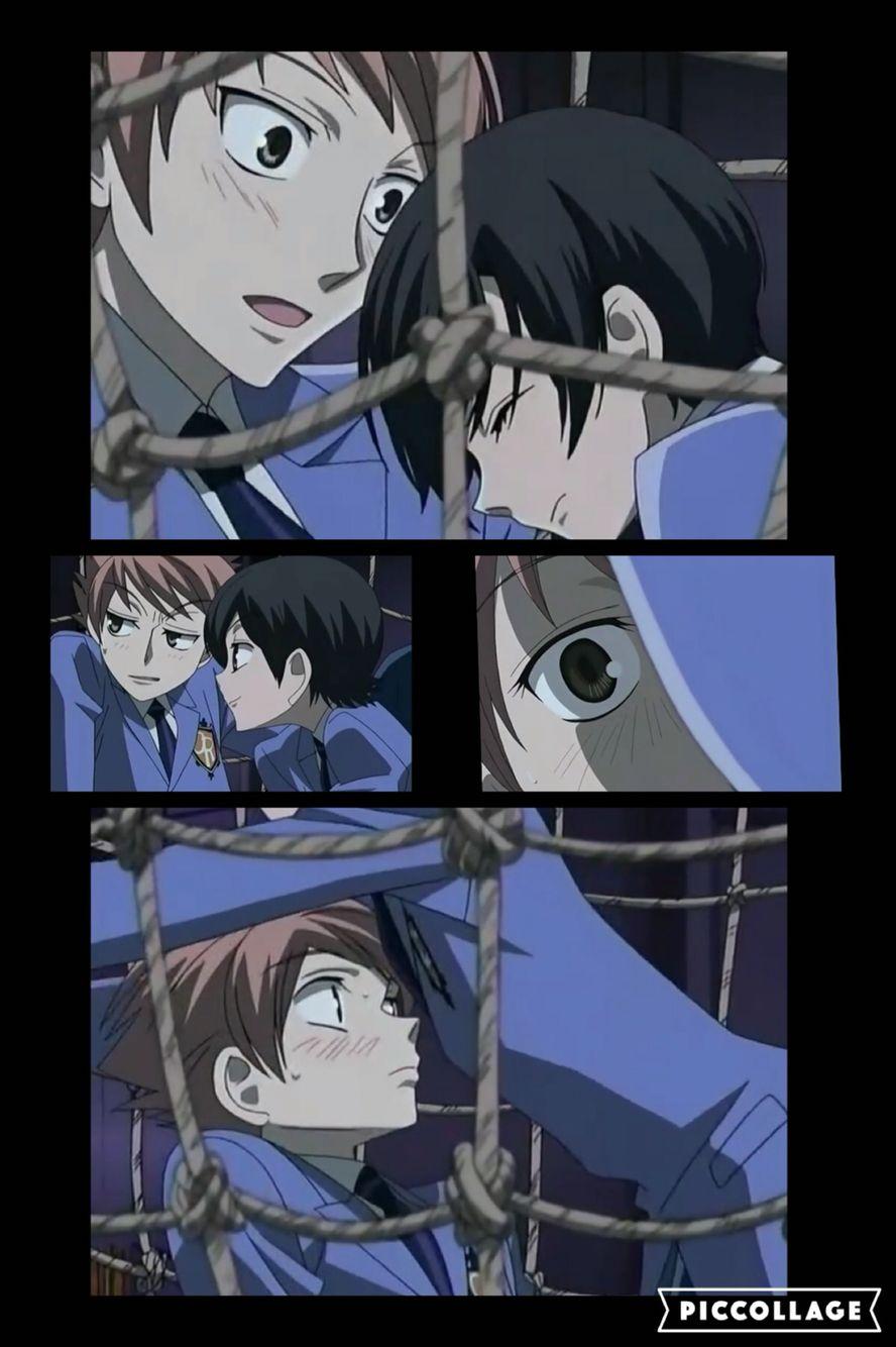 haruhi x hikaru moments x3 i ship it so much anime