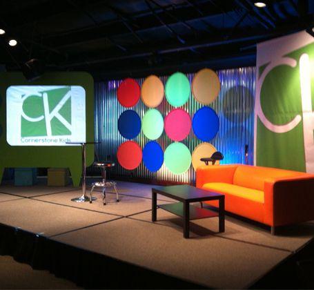Stage Design Ideas | Church, Stage Design And Design