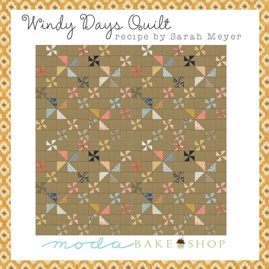 Windy Days Quilt free pattern on Moda's Bake Shop blog ...