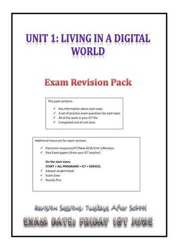 Edexcel Gcse Ict Revision Notes Complete Intensive Notes Gcse Ict Ict Revision Notes