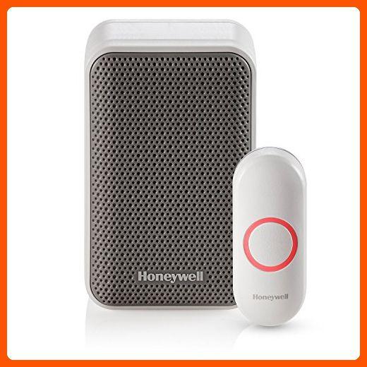 Honeywell Rdwl311a2000 E Series 3 Portable Wireless Doorbell Door Chime Push Button Home Smart Home Amazon Partner Wireless Doorbell Honeywell Wireless