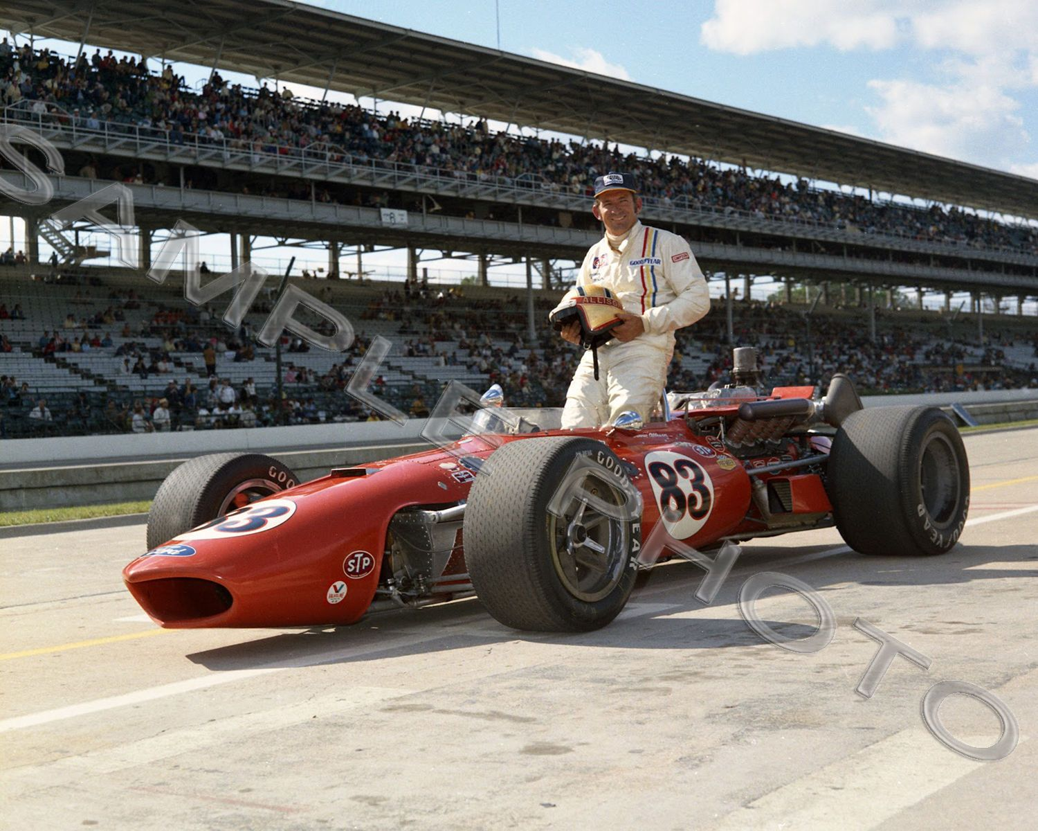 3 95 donnie allison 1970 indy 500 auto racing 8x10 photo ebay collectibles