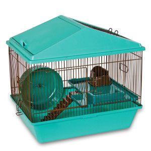 Critterware Animal House 16 2 Level Hamster Cage Petsmart Hamster House Small Pets Pet Mice