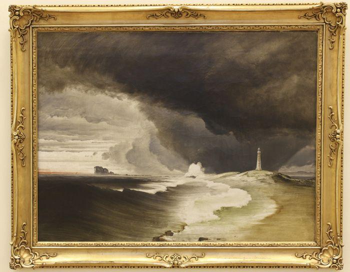 Peder Balkes Overraskende Reise Historical Art Art Painting