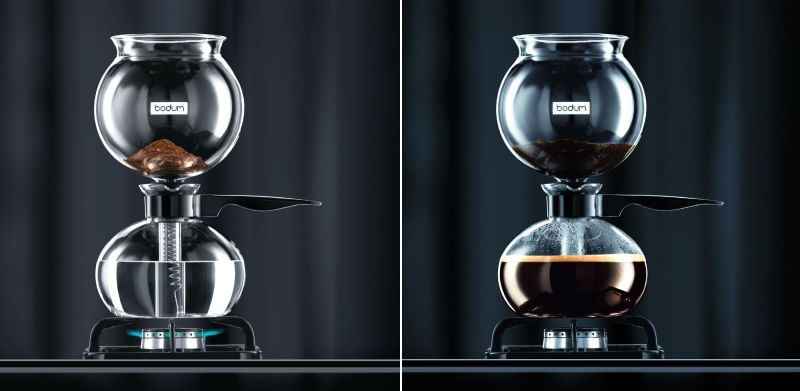 Bodum Pebo A Simple Beautiful Vacuum Coffee Maker