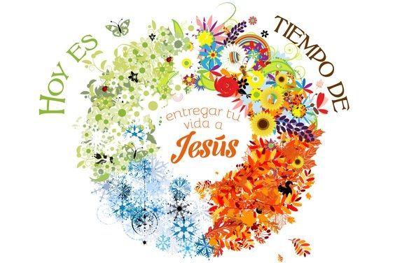 Hoy es tiempo de entregar tu vida a Jesús.