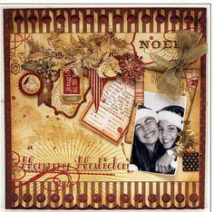vintage Christmas Scrapbook  Ideas | scrapbook ideas on Pinterest | Vintage Scrapbook, Wedding Scrapbook ...