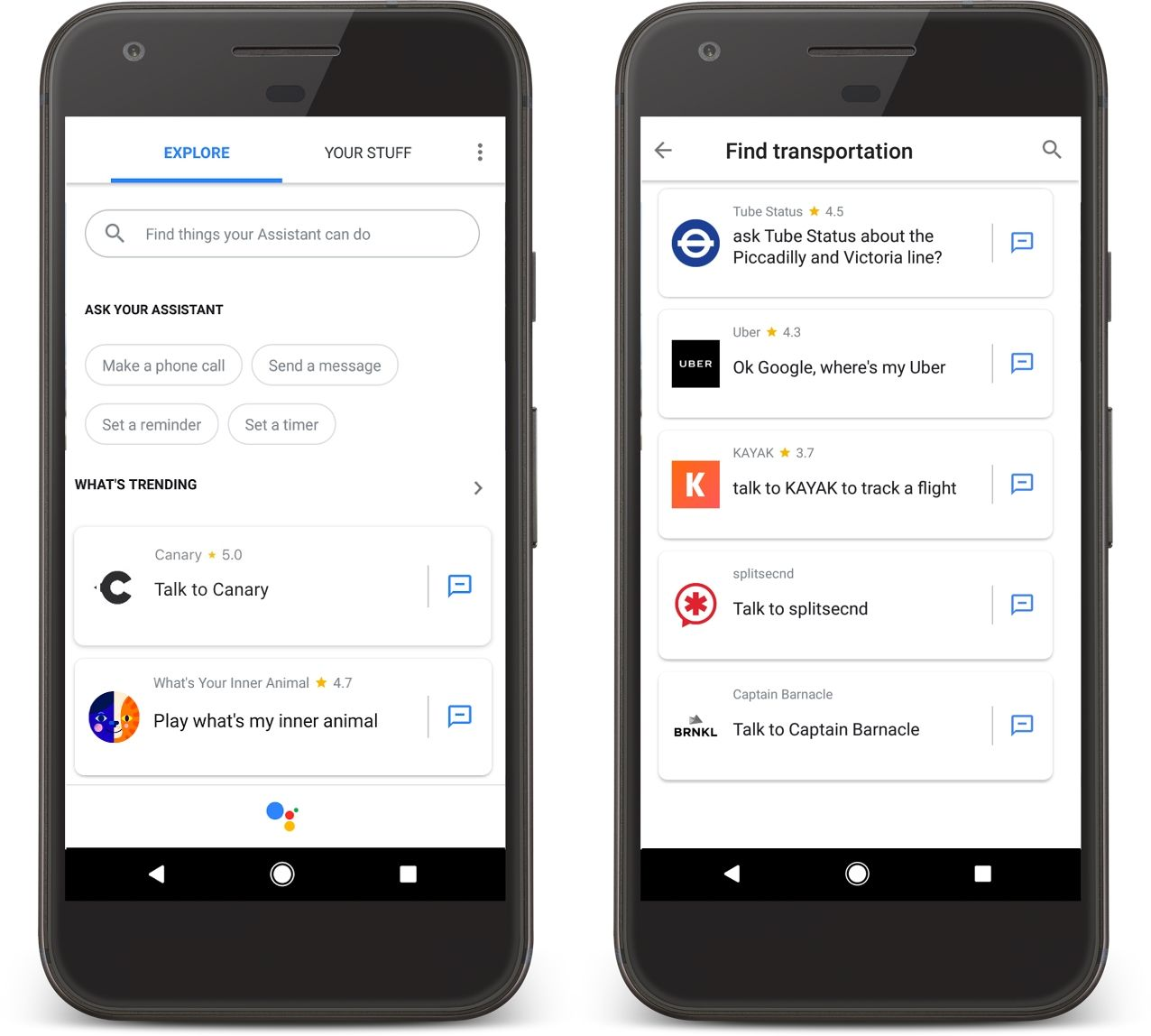 Google Assistant Gets App Directory, Push Messages and