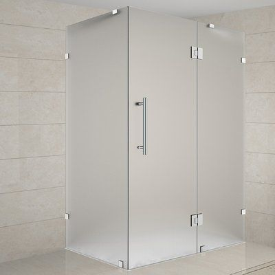 Aston Avalux 40 X 72 Rectangle Hinged Shower Enclosure Shower