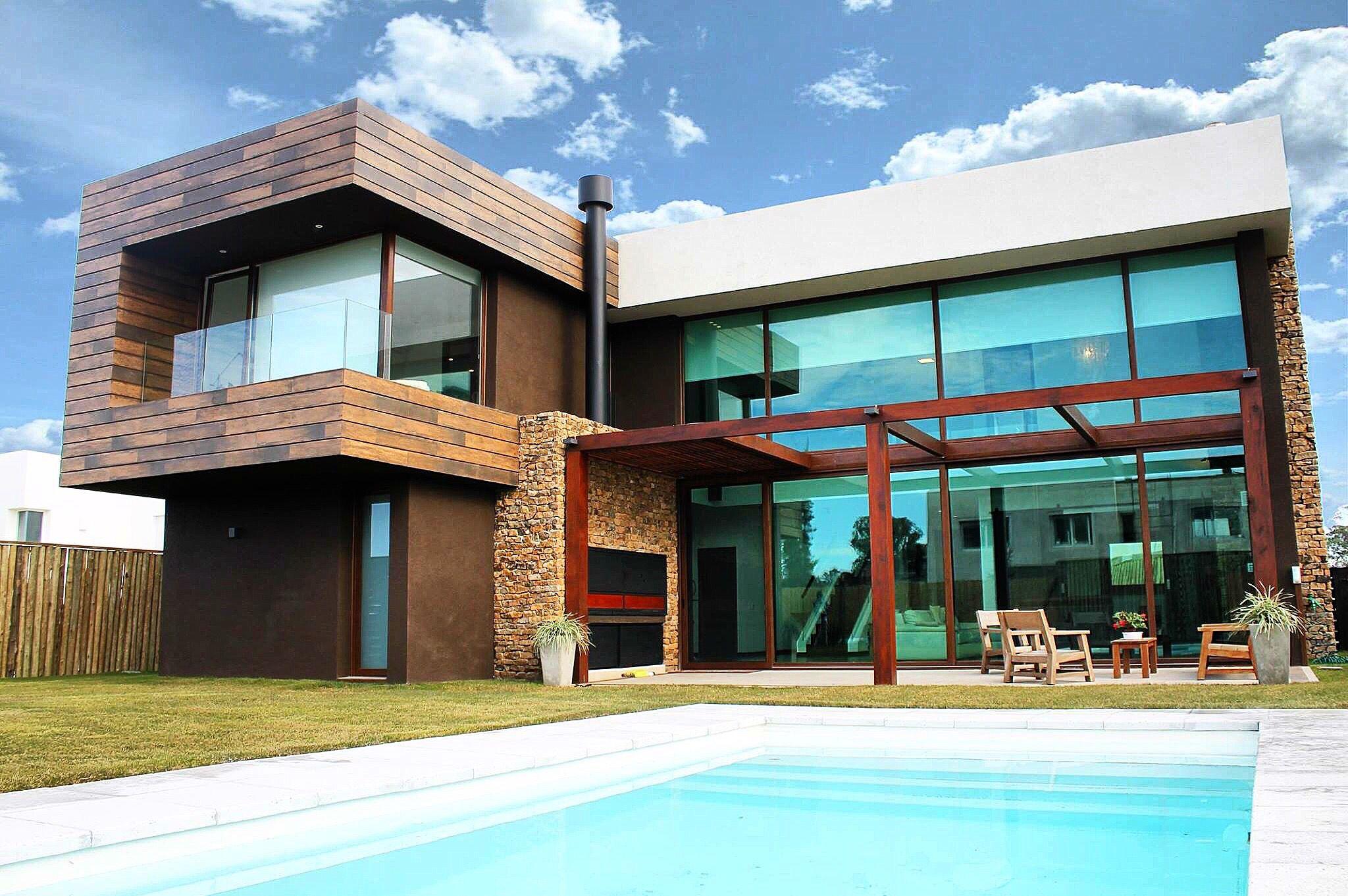 Uruguay montevideo punta del este colonia bazzurro arquitectos arqu modern house - Arquitectos casas modernas ...
