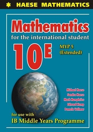 Mathematics For The International Student 10e Myp 5 Extended Be