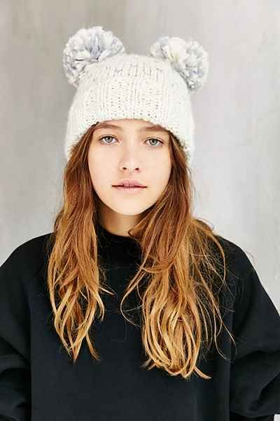 ef7596007 Animal Ears Beanie - Urban Outfitters | Fashion | Knitted hats ...
