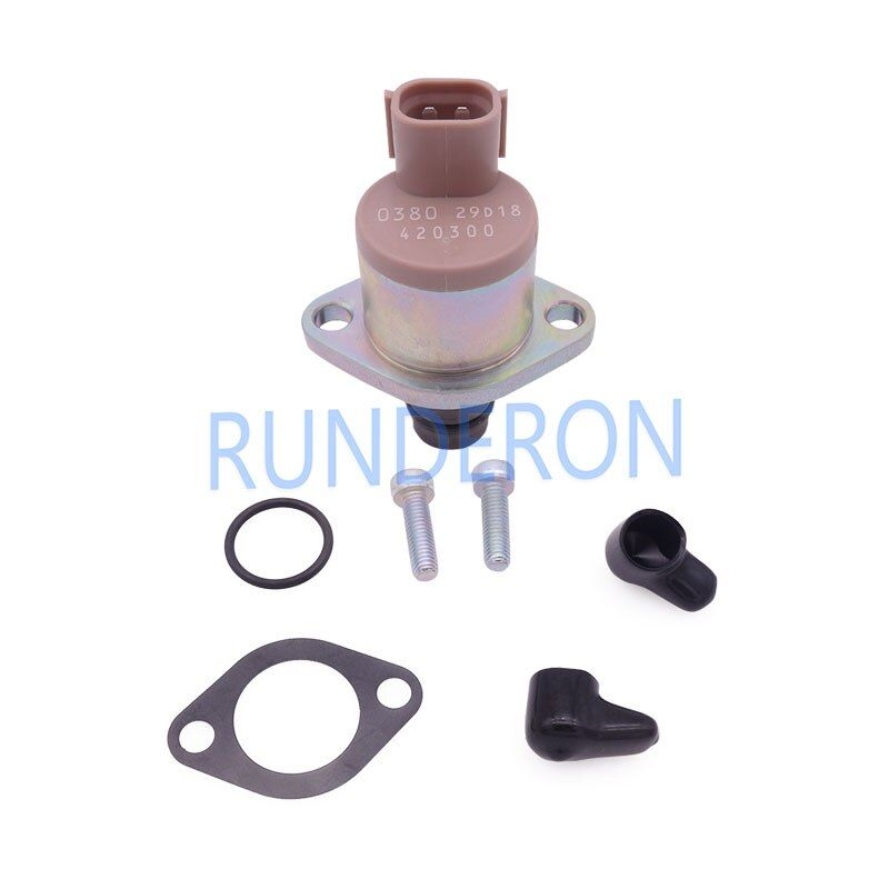 RUNDERON 2942000380 Fuel System Metering Unit SCV Suction Control Valve High Pressure Pump Spare Pa