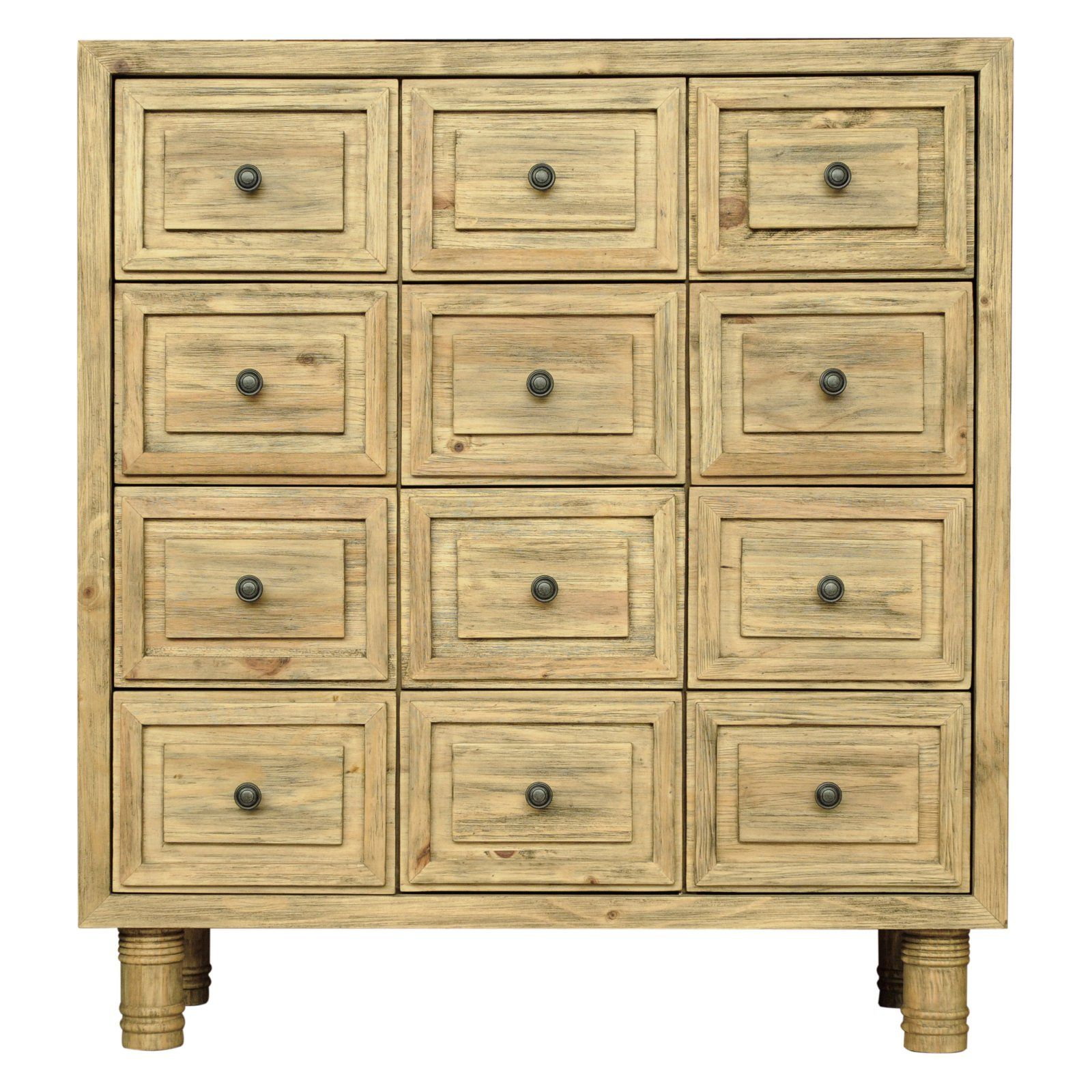 Cdi International Furniture Sand 12 Drawer Chest Chest Of